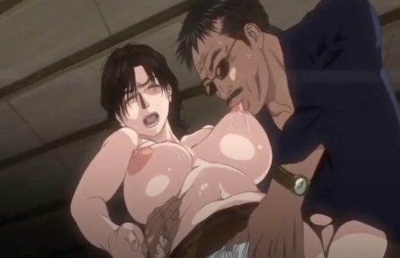 Busty mommy has to submit to a deranged yakuza