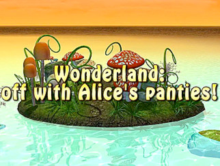 Wonderland-Off With Alices Panties