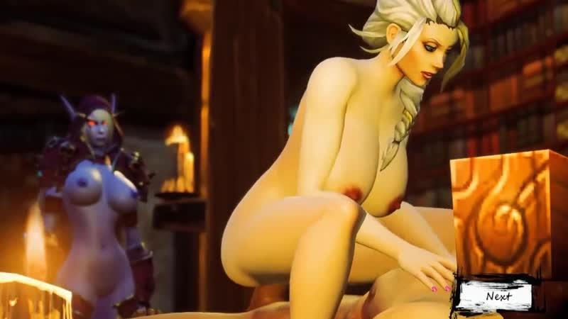 World of Warcraft Jaina Proudmoore Fuck - Episode 1