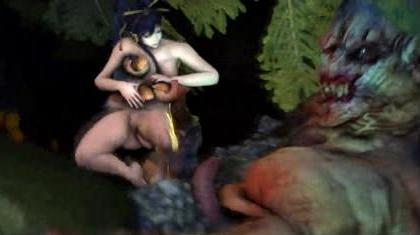 Nyotengu & Monster – Episode 1