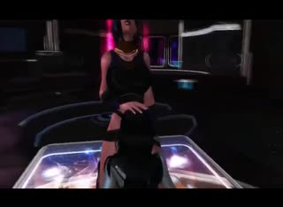 Annotated free 3D fuck video featuring a hung human futanari and a thirsty alien slut