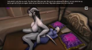 World of Warcraft characters are having sex and loving it