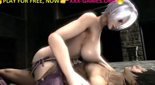 Big tits hentai riding cock in the best porn game featuring schoolgirls