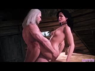 Geralt of Rivia fucks every sexy girl in the witcher game in 3D porn