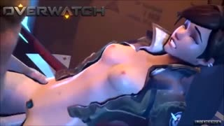 3D Porno action with Overwatch characters fucking