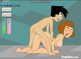 Hard anal doggy style sex video featuring Danny Phantom and his redheaded mommy