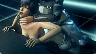 Robot shemale fucks Major from Ghost in the shell