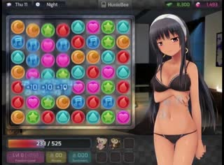 Best sex scenes from the dating sim game called HuniePop